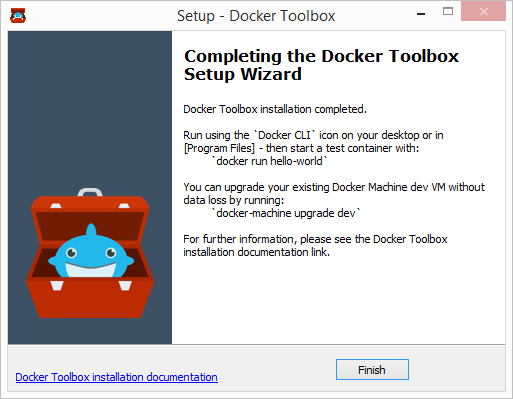 Setup - Docker Toolbox