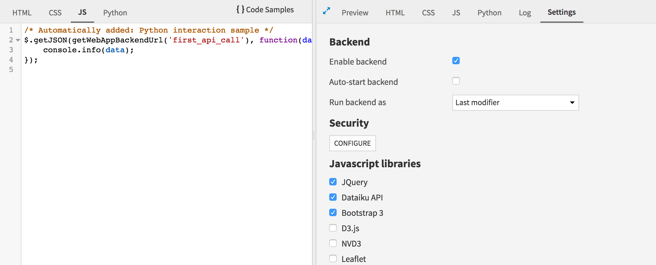 Importing the Bootstrap library into your web app