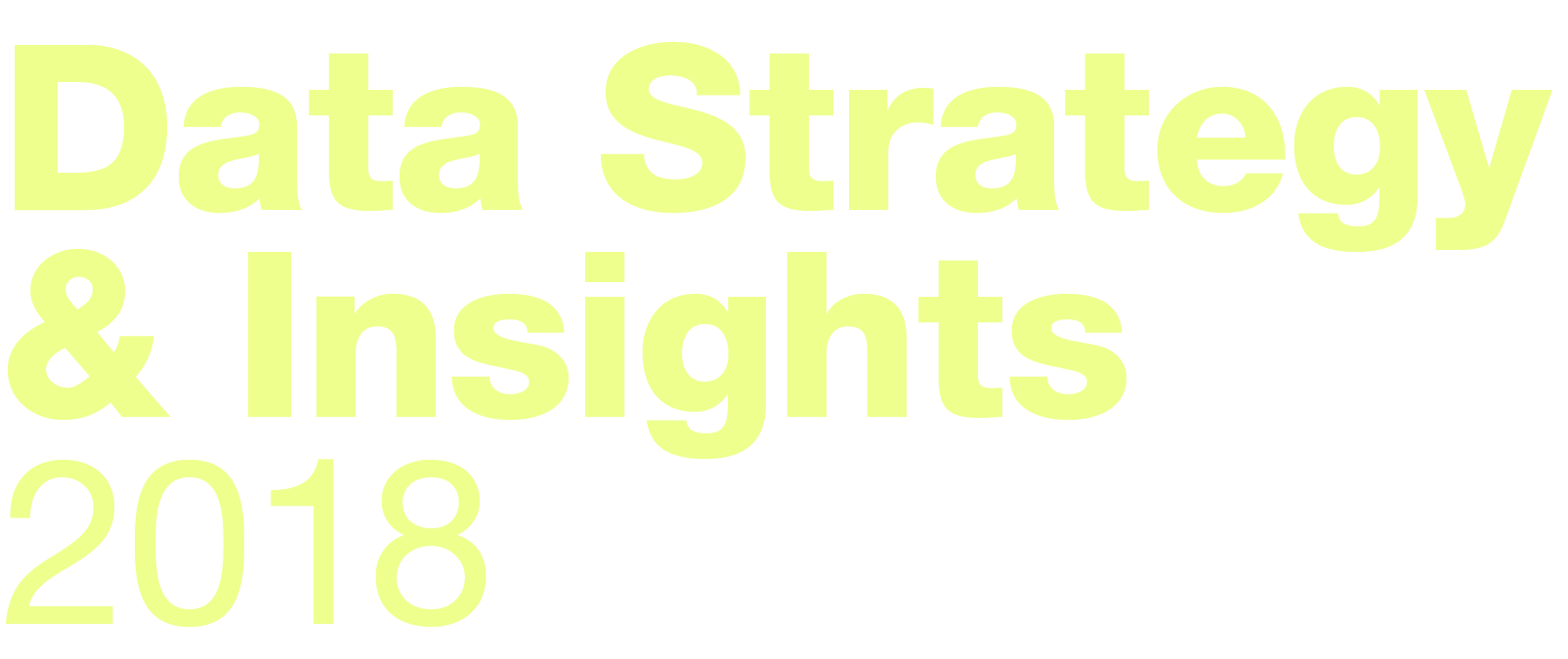 Forrester Data Strategy & Insights