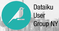 Dataiku User Group #3 New York
