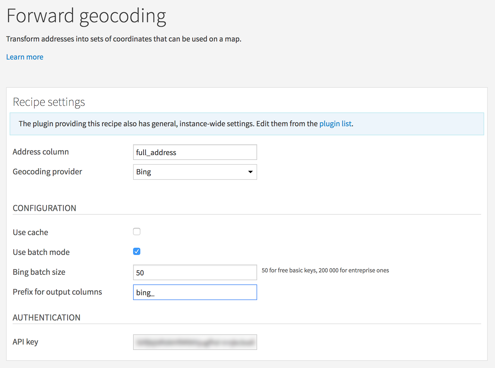 Geocode your data directly into DSS