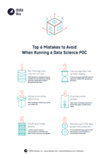 6 mistakes to avoid with a data science POC