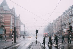 Traffic lights Netherlands
